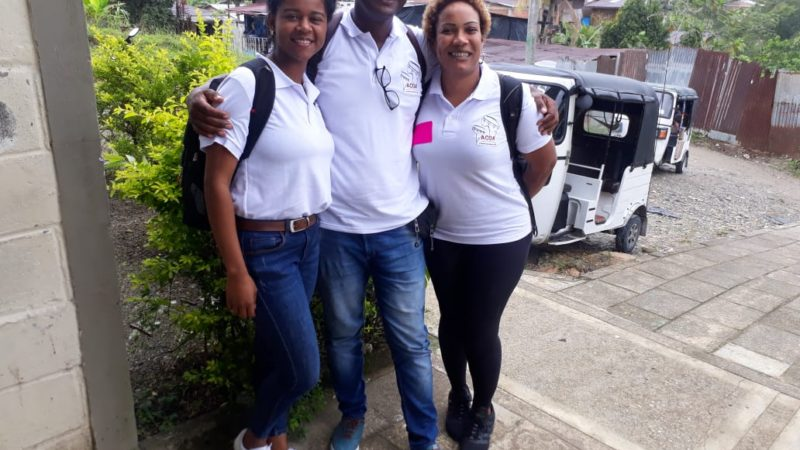 Presentación de los grupos de trabajo y sus propuestas de negocio en Riosucio Chocó
