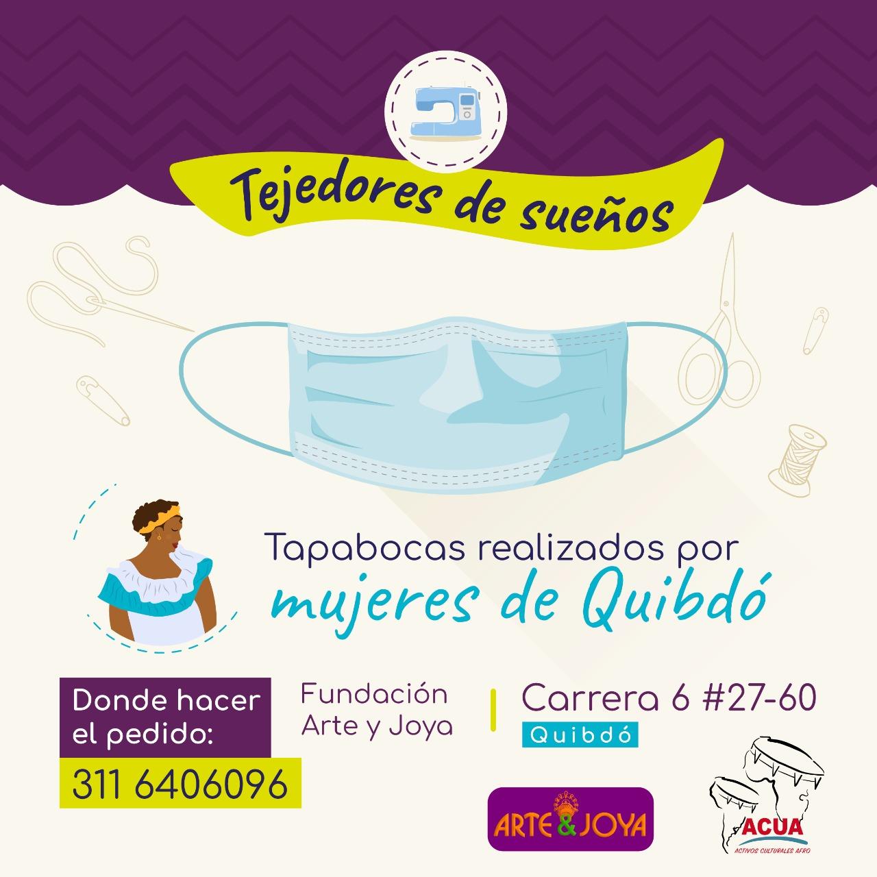 Tapabocas - Fundación Arte y Joya